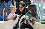Selma Blair & Arthur Saint Farmers Market Fun 25