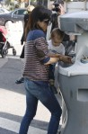 Selma Blair & Arthur Saint Farmers Market Fun 3