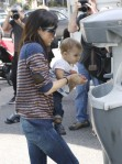 Selma Blair & Arthur Saint Farmers Market Fun 4