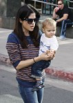 Selma Blair & Arthur Saint Farmers Market Fun 5