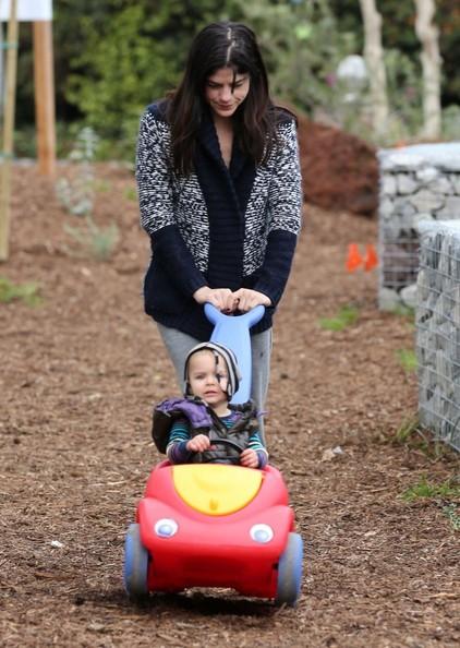 Selma Blair & Arthur Saint Morning Buggy Ride