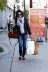 Selma Blair carrying her shopping loot