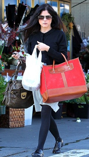 Selma Blair December 22 2012