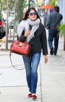 Selma Blair in Marc by Marc Jacobs flats