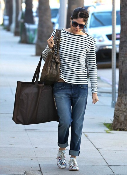 Selma Blair Shops Crossroads Trading Co