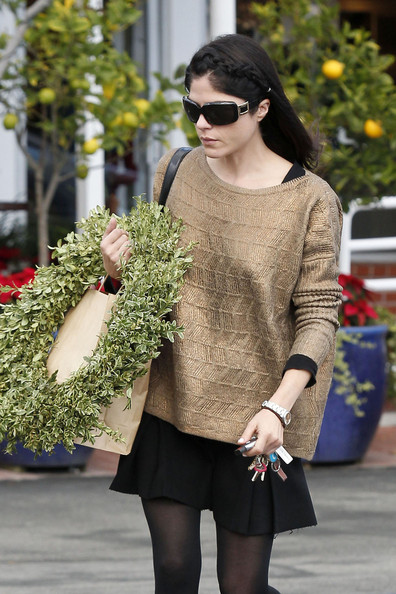 Selma Blair Shops Fred Segal