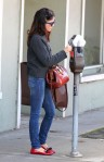 Selma Blair Shops West Hollywood 12