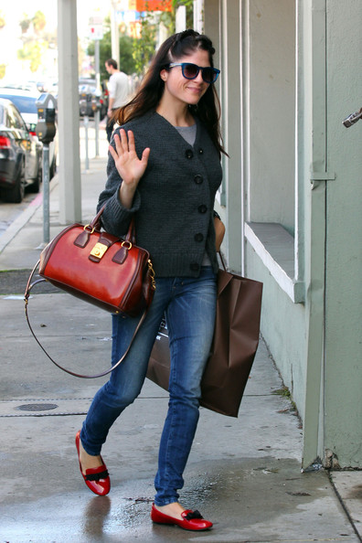 Selma Blair Shops West Hollywood