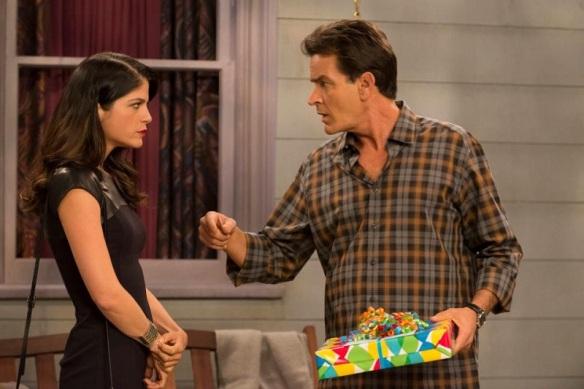 Charlie Sheen & Selma Blair Anger Management Baby Shower 1