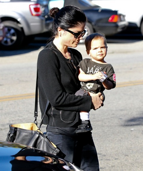 Selma Blair and Arthur Saint Jan 17 2013