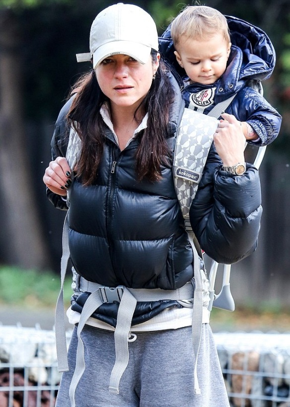 Selma Blair & Arthur Saint Take A Hike