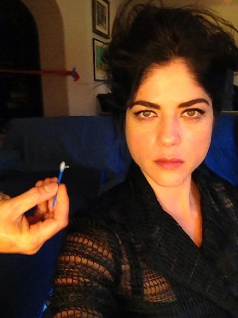 Selma Blair at Rankin shoot January 26 2013