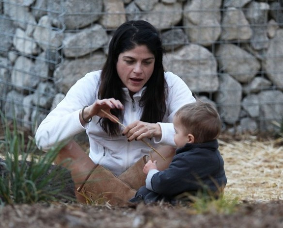 Selma Blair's Sweet Kisses From Saint 13