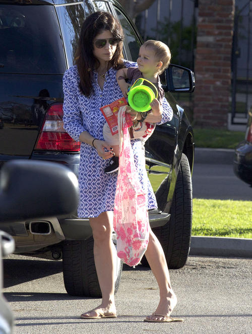 Selma Blair & Arthur Saint Sandbox Funtime