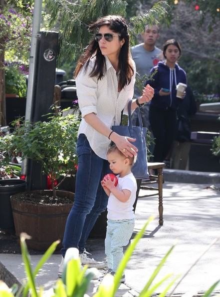 Selma Blair & Son Playtime At The Park 10
