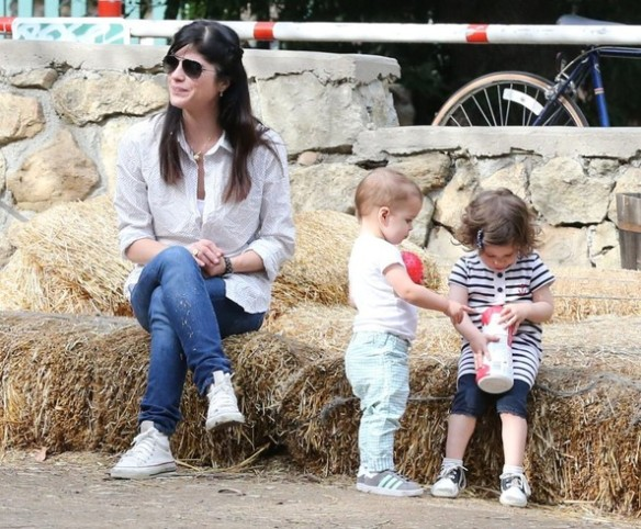 Selma Blair & Son Playtime At The Park 21