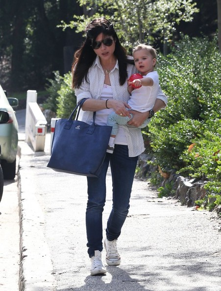 Selma Blair & Son Playtime At The Park 3