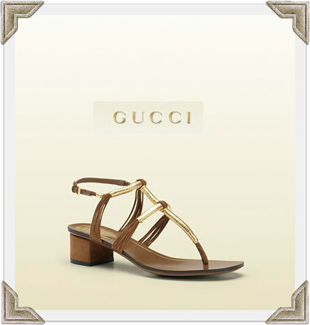 Gucci Sandals Worn By Selma Blair