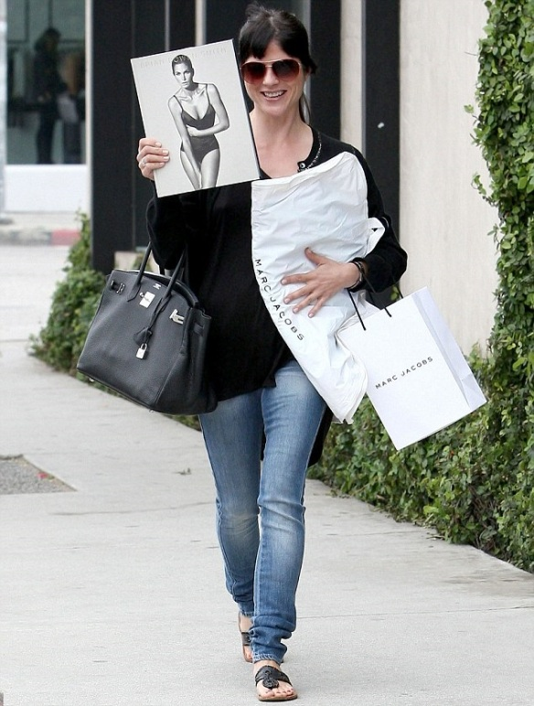Selma Blair April 14 2013