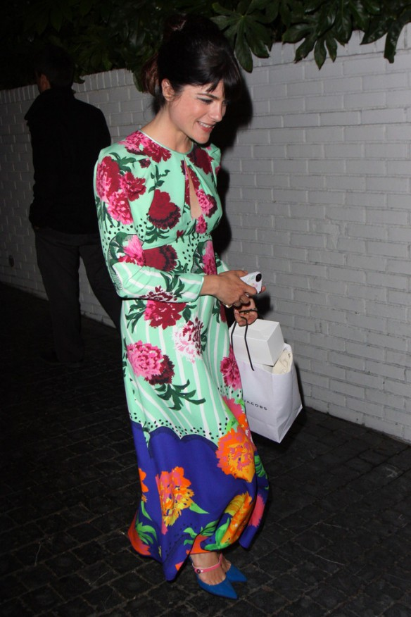 Selma Blair Arriving At Chateau Marmont 10