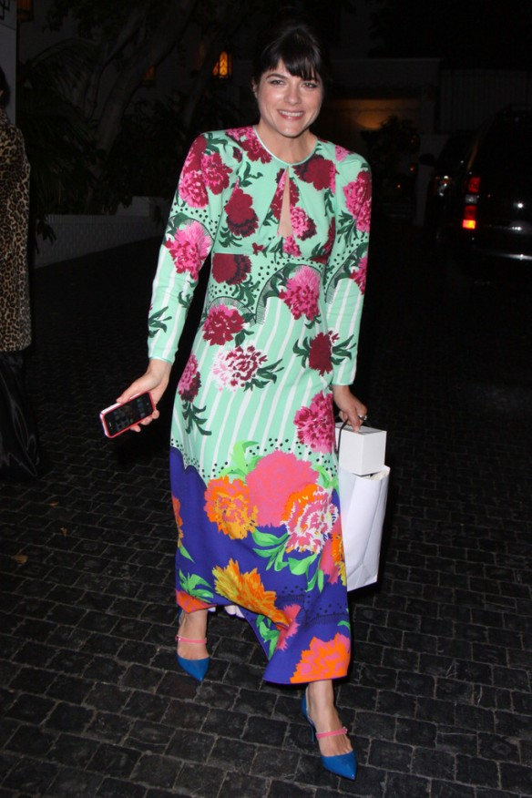 Selma Blair Arriving At Chateau Marmont 11