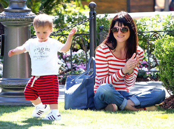 Selma Blair & Arthur Saint Bleick at The Grove
