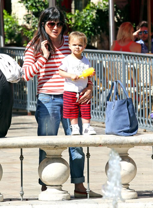 Selma Blair & Son Arthur Enjoy A Day At The Grove
