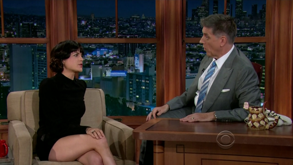 Selma Blair Craig Ferguson April 16 2013 5