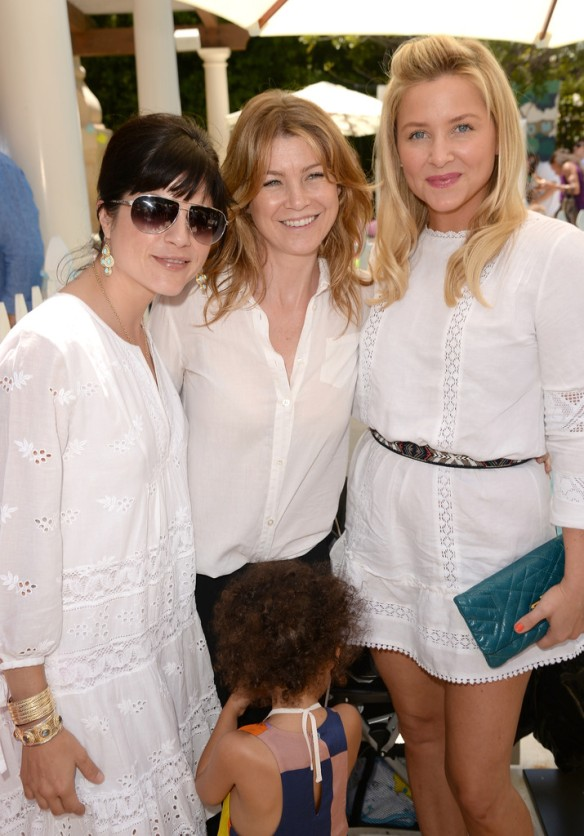 Selma Blair Ellen Pompeo, and Jessica Capshaw Attend Huggies Snug Dry Baby2Baby Mother's Day Event 3