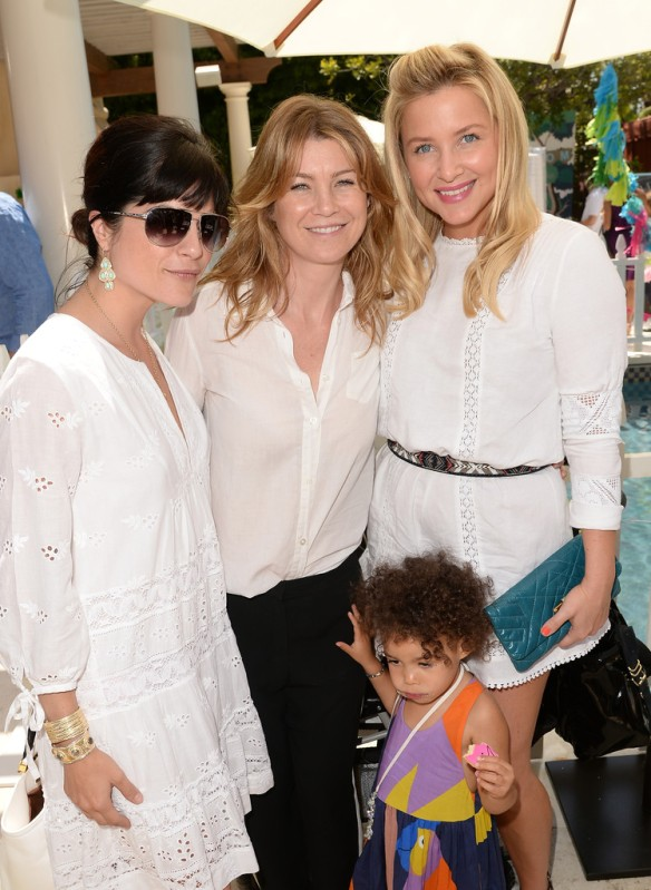 Selma Blair Ellen Pompeo, and Jessica Capshaw Attend Huggies Snug Dry Baby2Baby Mother's Day Event 4