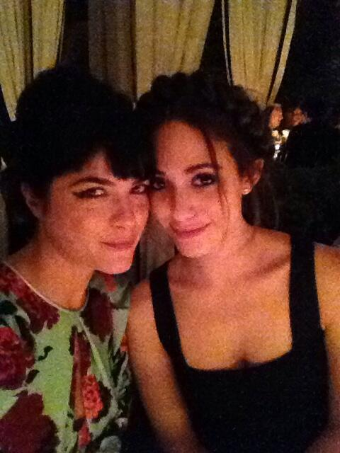 Selma Blair & Emmy Rossum at Brian Bowen Smith's Projects Book Launch