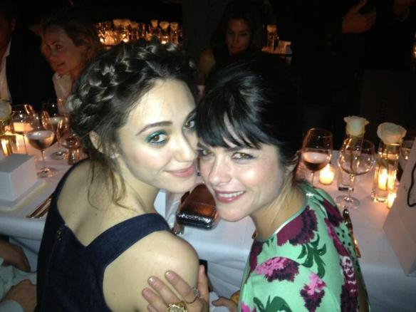 Selma Blair & Emmy Rossum at Brian Bowen Smith's book launch. April 26, 2013