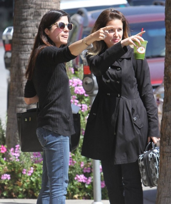 Selma Blair Grabs Lunch With A Friend 5