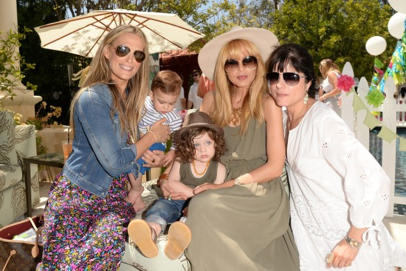 Selma Blair, Molly Sims, Rachel Zoe, Attend Huggies Snug Dry Baby2Baby Mother's Day Event 3
