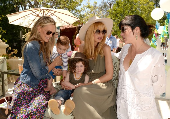 Selma Blair, Molly Sims, Rachel Zoe, Attend Huggies Snug Dry Baby2Baby Mother's Day Event 4
