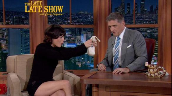 Selma Blair on Craig Ferguson