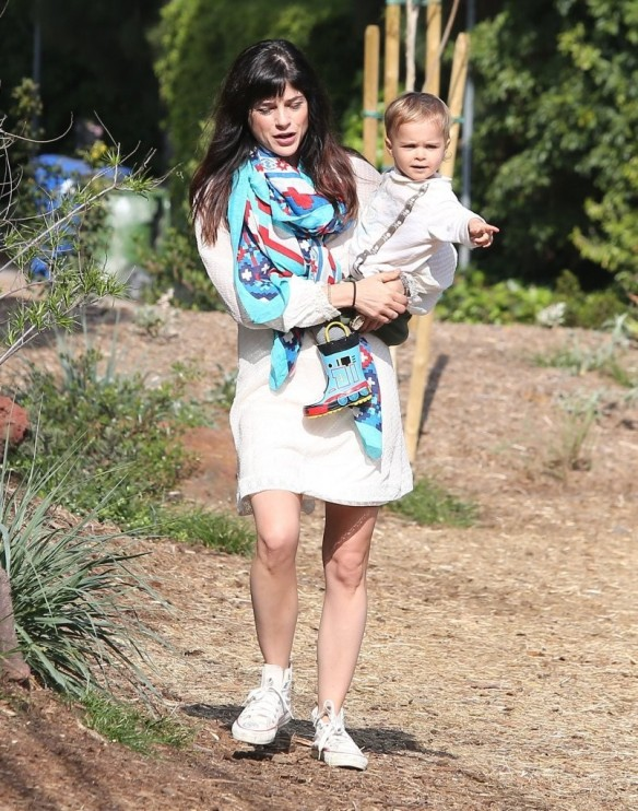 Selma Blair & Son Arthur Afternoon Outing 22