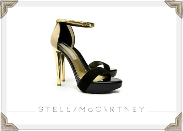 Stella McCartney shoes worn by Selma Blair on Craig Ferguson