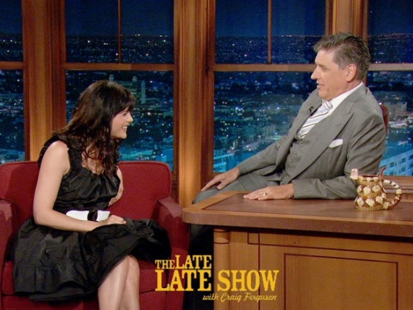 The Late Late Show with Craig Ferguson - Selma Blair April 16 2013