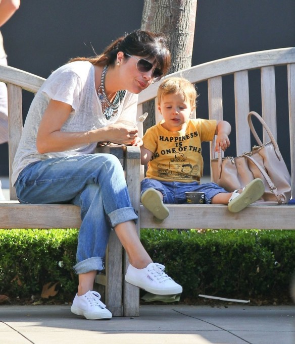Selma Blair & Arthur Saint Go For Ice Cream 3