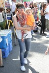 Selma Blair & Arthur Saint Train Ride 16