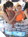 Selma Blair & Arthur Saint Train Ride 23