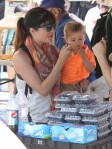 Selma Blair & Arthur Saint Train Ride 24