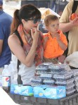Selma Blair & Arthur Saint Train Ride 25