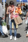 Selma Blair & Arthur Saint Train Ride 28