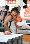 Selma Blair & Arthur Saint Train Ride 31