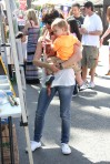 Selma Blair & Arthur Saint Train Ride 32