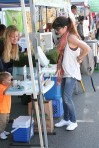 Selma Blair & Arthur Saint Train Ride 33