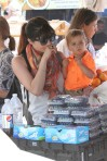Selma Blair & Arthur Saint Train Ride 34