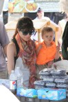 Selma Blair & Arthur Saint Train Ride 38